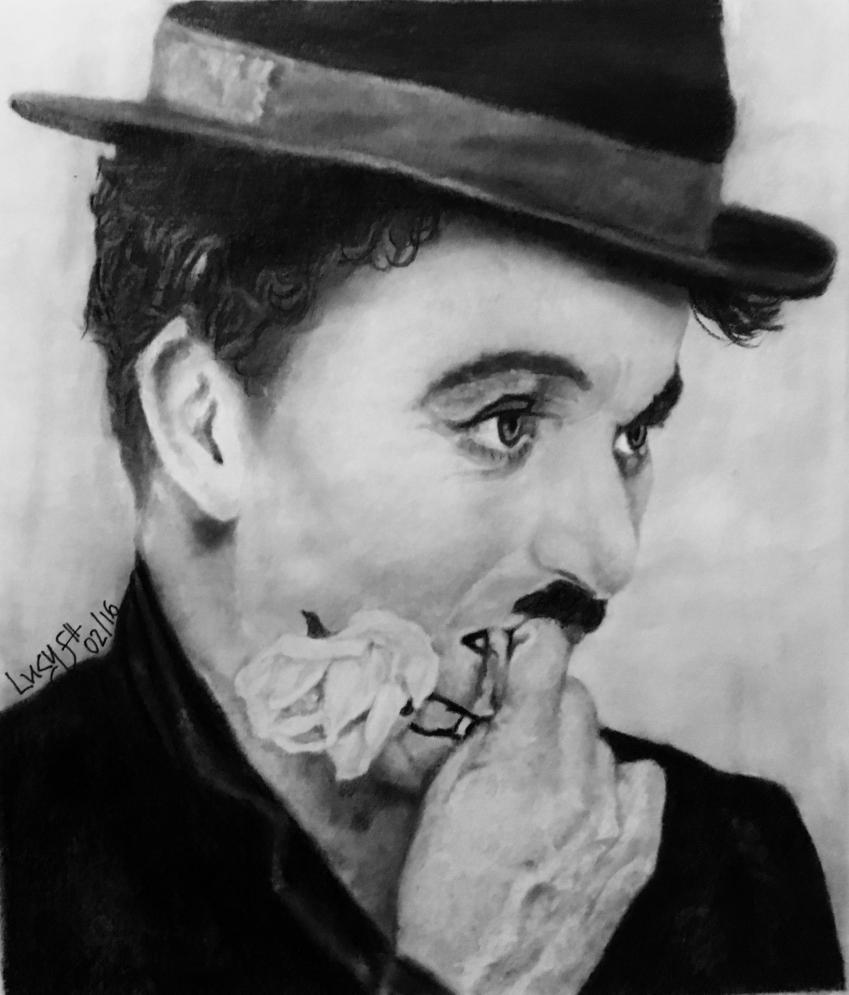 Charlie Chaplin by lucysh